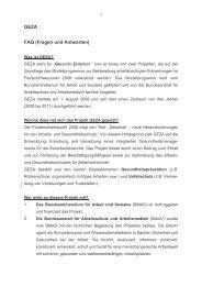 #FAQ GEZA final-kommentiert Stand 100309 - Gesunde Zeitarbeit