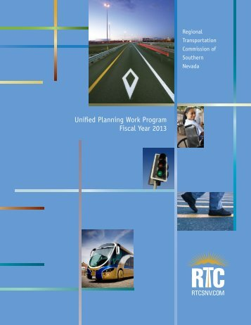 Unified Planning Work Program Fiscal Year 2013 - Regional ...