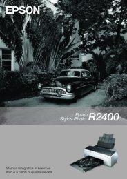 Stampa fotografica in bianco e nero e a colori di ... - Epson Europe