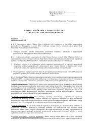 Zasady współpracy - Wiadomości ngo.pl