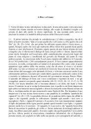 A Dio e a Cesare - Mons. Ignazio Sanna