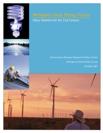 Download Report - Michigan Environmental Council