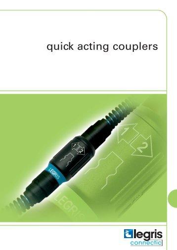 quick acting couplers - OPERATOR SERV