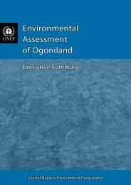 Environmental Assessment of Ogoniland - UNEP