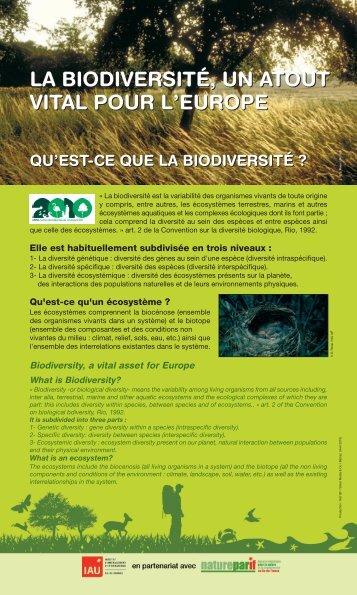 La biodiversité, un atout vital pour l'Europe - Kiagi.org
