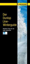 Der Dunlop Lkw- Winterguide - Premio Reifen und Autoservice