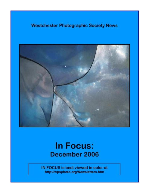 December, 2006 - WPS