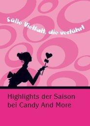 Highlights der Saison bei Candy And More