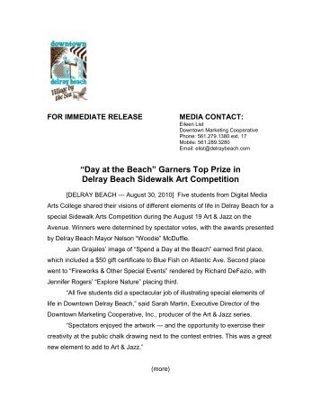 Murder on the beach bookstore presents downtown delray beach for immediate release downtown delray beach malvernweather Choice Image