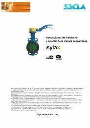 Instrucciones de instalación y montaje de la válvula de ... - SOCLA