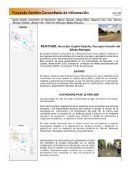 Boletín 1 - Centro Comunitario de Información Bejucales