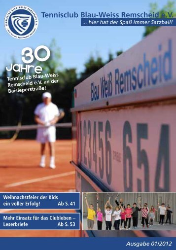 10 - Tennisclub Blau-Weiss Remscheid