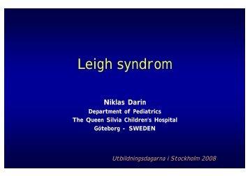 Leigh syndrome - BLF