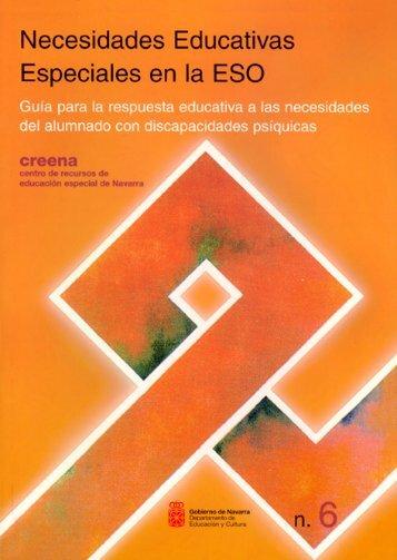 Guía para la respuesta educativa a las necesidades del ... - Navarra