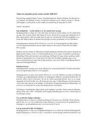 Aftale om satspuljen på det sociale område 2008-2011