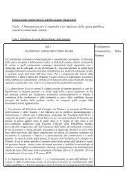 Disposizioni urgenti per la stabilizzazione finanziaria