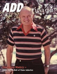 September 2006 - USPTA's ADDvantage Magazine