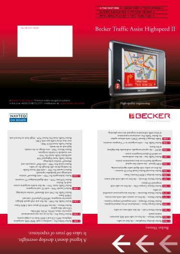 becker indianapolis pro harman becker automotive systems. Black Bedroom Furniture Sets. Home Design Ideas