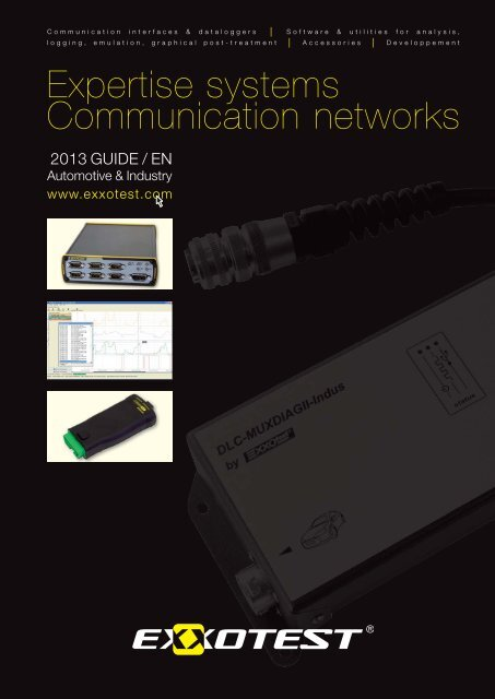 Expertise systems Communication networks - Exxotest