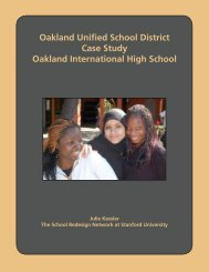 Oakland Unified School District Case Study Oakland International ...