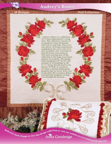 Audrey's Roses Audrey's Roses - Anita Goodesign