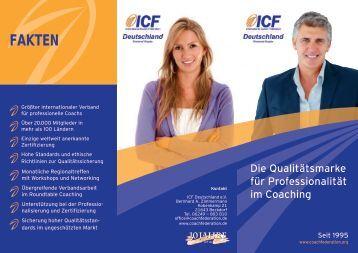 Flyer - International Coach Federation Deutschland