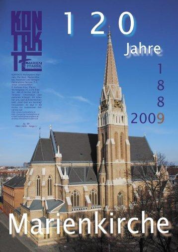 120 Jahre Marienkirche KONTAKTE Marienpfarre Her- nals ...