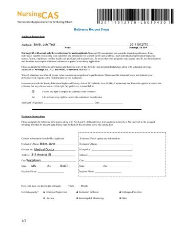 The University Of Findlay Reference Form For Doctor Of Education