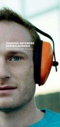 TINNITUS NETZWERK ZENTRALSCHWEIZ Besser leben mit Tinnitus