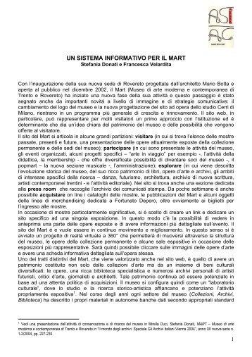 Relazione Convegno Venezia