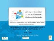 Un exemple de société d'économie mixte dans le ... - Euromedina