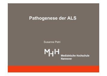 Pathogenese der ALS