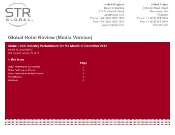 Global Hotel Review (Media Version) - Hotel News Now