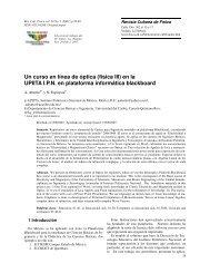 (fisica III) en la UPIITA IPN en plataforma informática blackboard