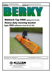 Mowing – Bucket Type 5900 - Special Maskiner A/S