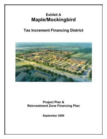 Maple/Mockingbird TIF Plan - Dallas Office of Economic Development