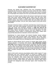 Elak Sambut Valentine - Jabatan Kemajuan Islam Malaysia