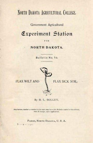 Flax Wilt