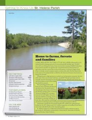Home to farms, forests and families - Baton Rouge Area Chamber
