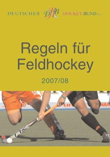 Feld-Regeln 2007/08 (PDF) - Hockey-Club Herne e.V.