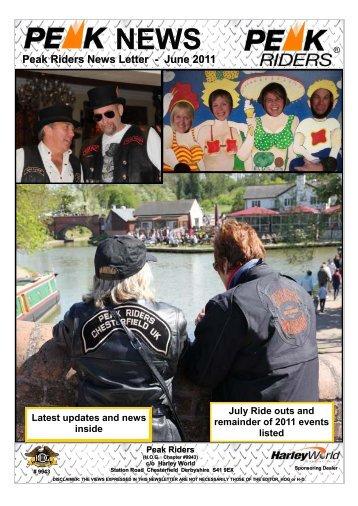 Peak Riders News Letter - June 2011