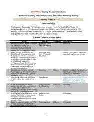 DRAFT Final NW Partner Mtg 24Feb11 Minutes - Smith | Associates