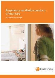 Verbrauchsmaterial- und Zubehörkatalog - Care Fusion