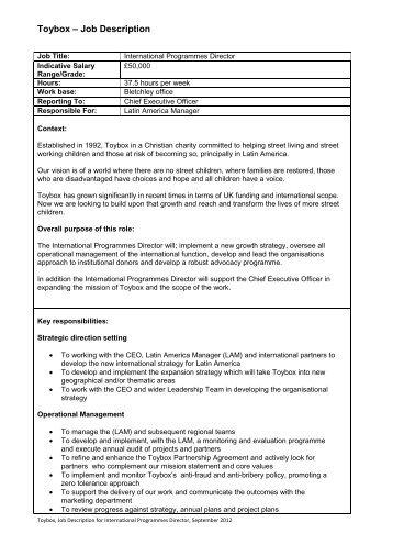 Gasco  Job Description  ThinkplusmanpowerCom
