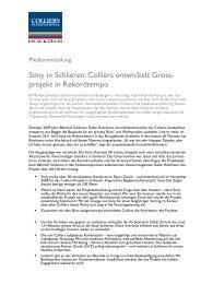 Sony in Schlieren - Colliers International Zurich