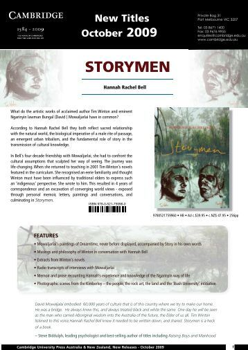 STORYMEN - Cambridge University Press