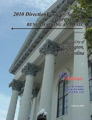 Read the benchmarking study. - City of Wilmington