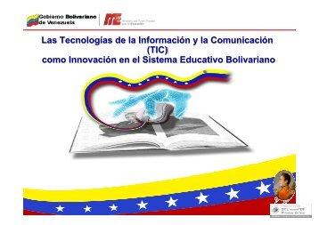 (TIC) como Innovación en el Sistema Educativo ... - Tecnoedu.net