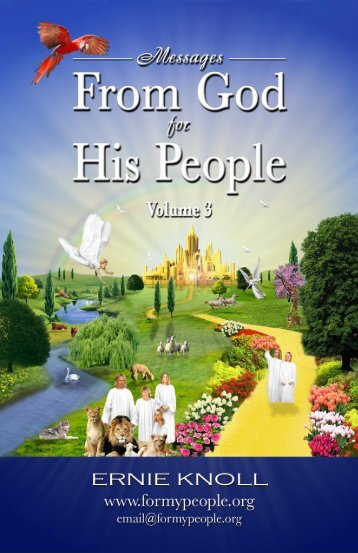Dreams Volume 3 - For My People Ministry