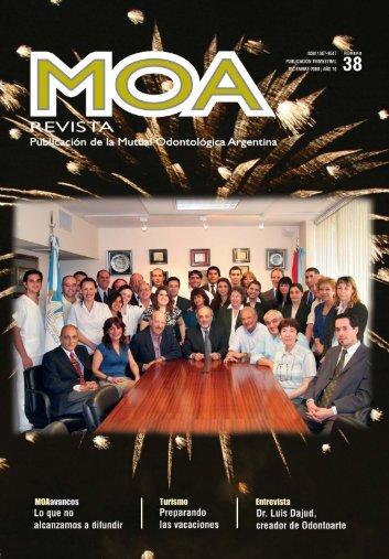 revista 38 - MOA :: Mutual Odontológica Argentina